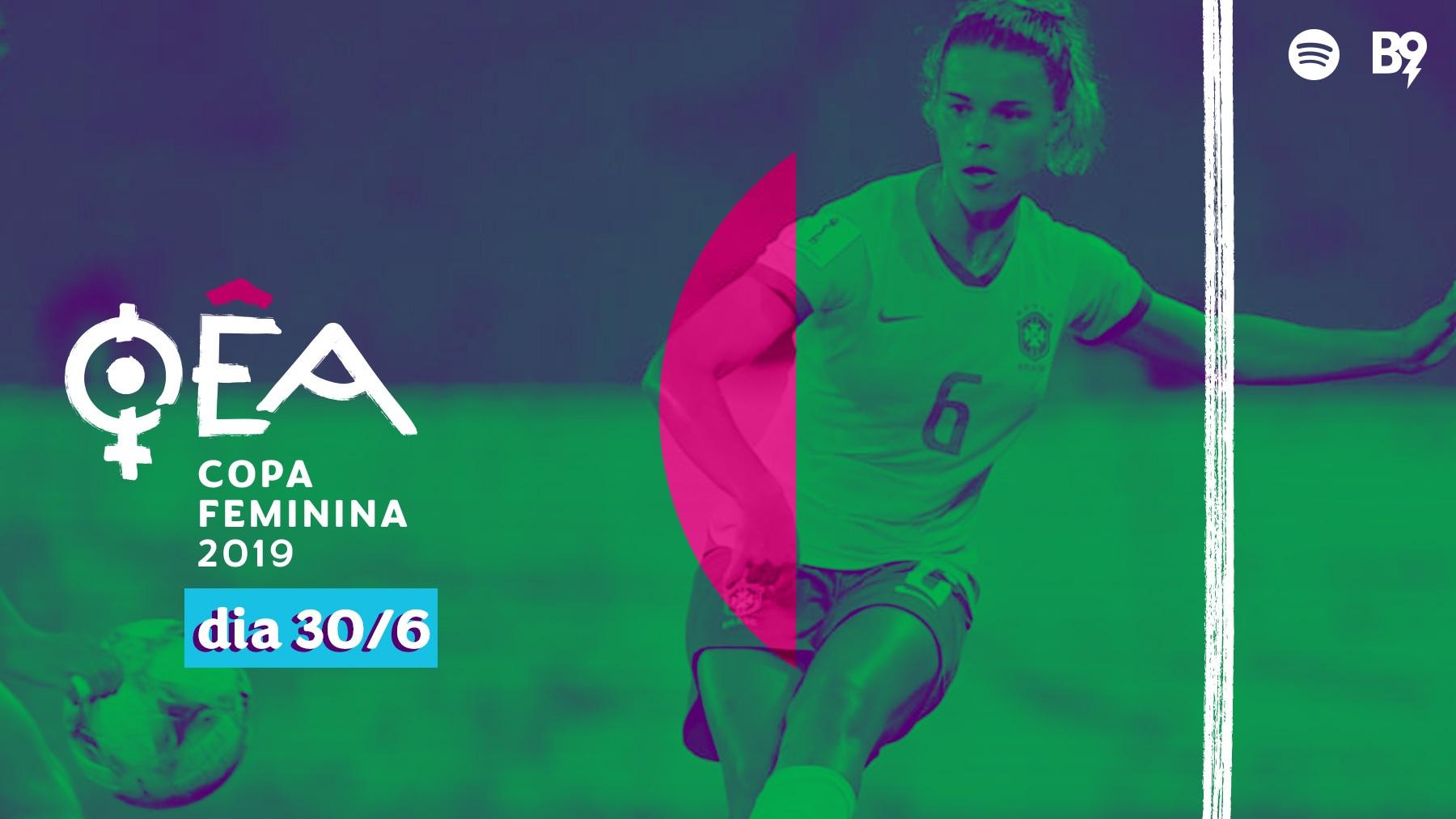 Capa - Copa 2019 — Tamires, lateral da seleção brasileira, na nossa mesa!