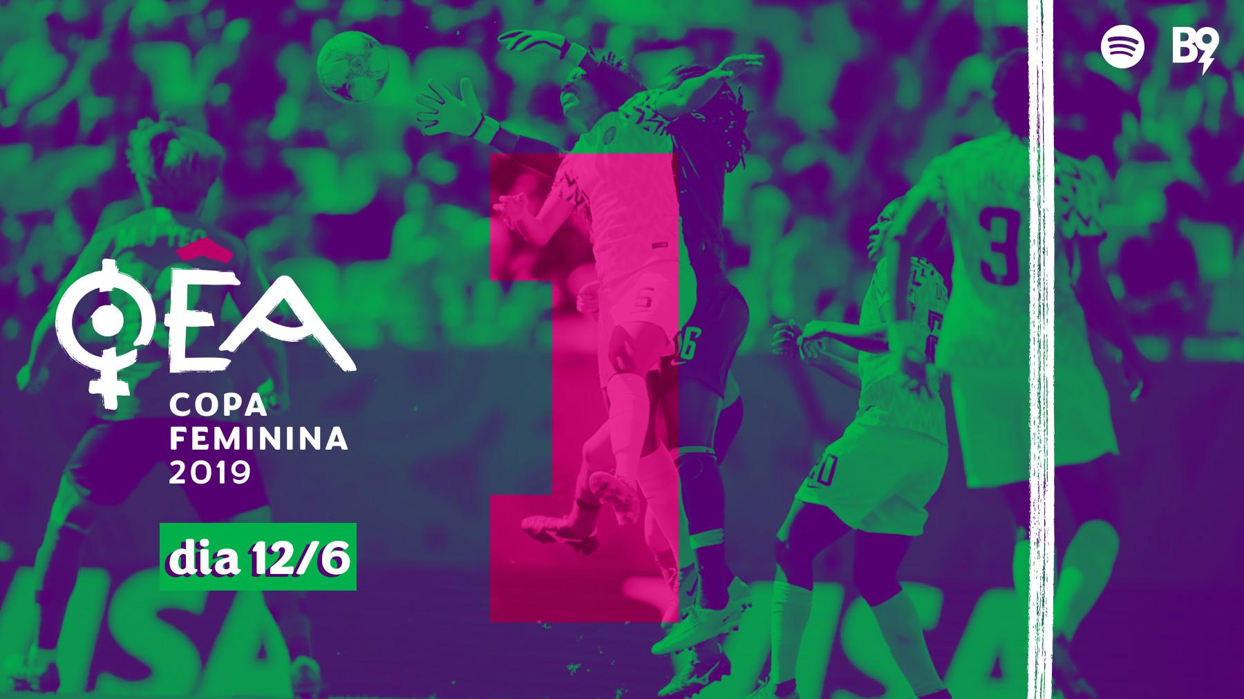 Oêa: Copa 2019 — 🇳🇬 2-0 🇰🇵 / 🇩🇪 1-0 🇪🇸 / 🇫🇷 2-1 🇳🇴