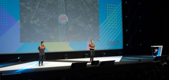 Burger King Cannes Lions 2019