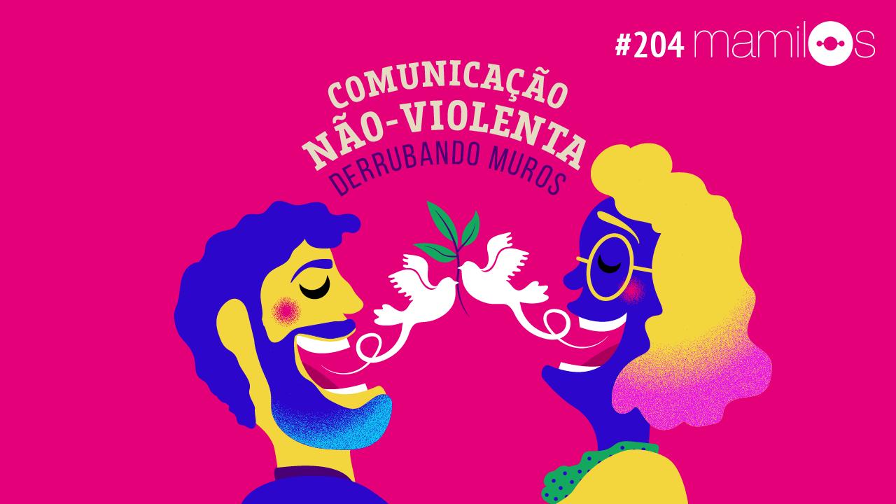Capa - Comunicação Não-Violenta: Derrubando Muros