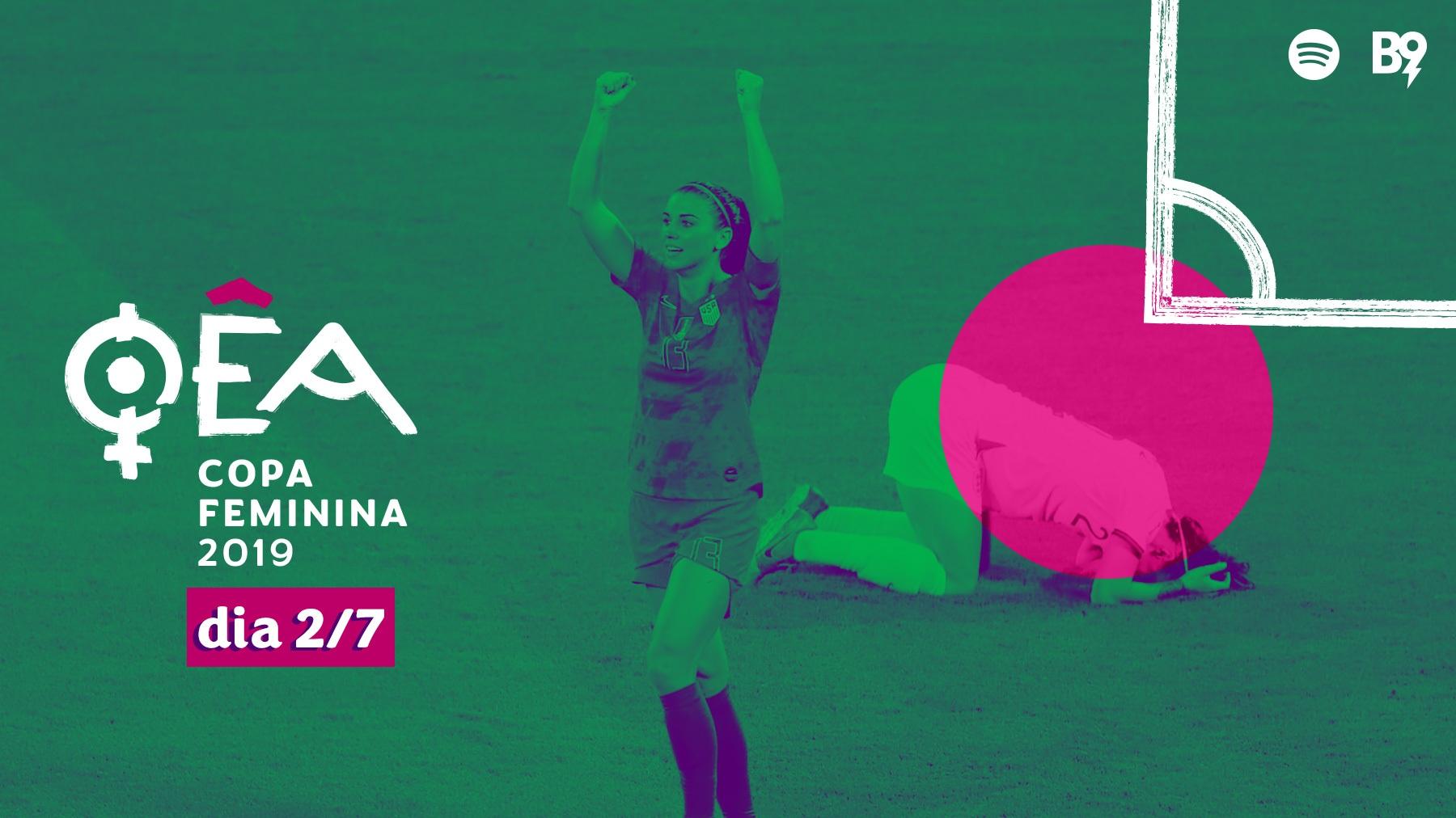 Oêa: Copa 2019 — 🏴 1-2 🇺🇸