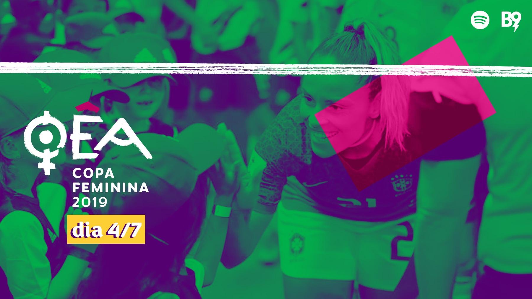 Capa - Copa 2019 — Mônica Hickmann, zagueira da seleção brasileira, na nossa mesa!