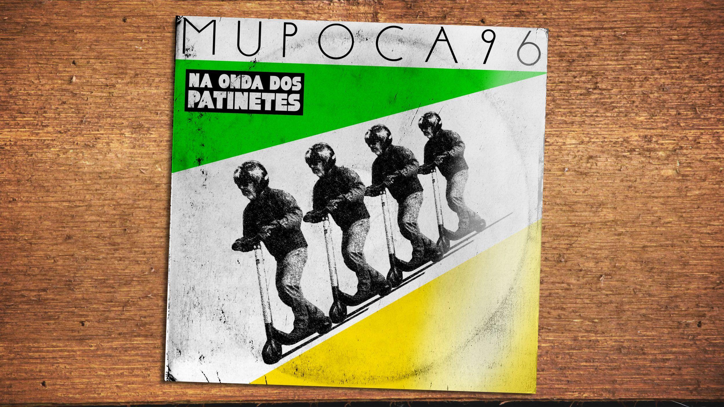Capa do Mupoca 96 - Na onda dos patinetes
