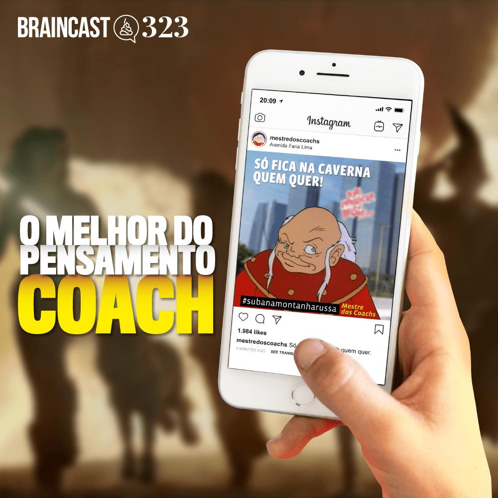 """Capa - O """"melhor"""" do pensamento coach"""