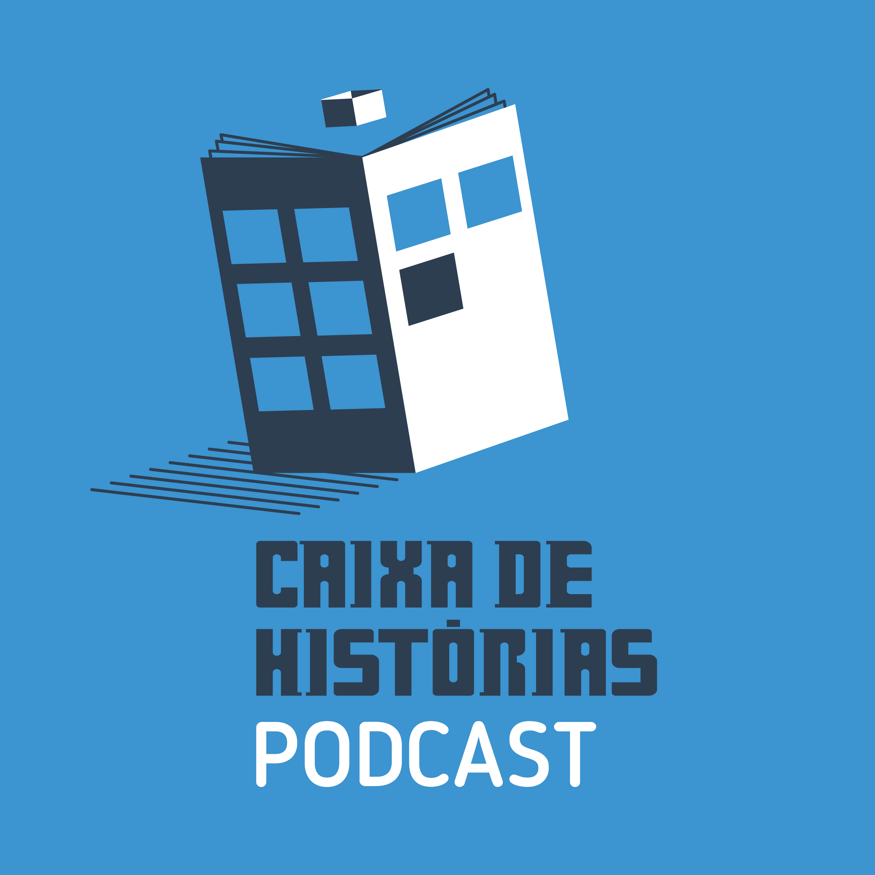 Capa do podcast Caixa de Histórias