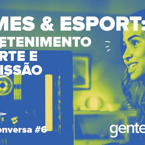 Capa - Games & eSports: entretenimento, esporte e profissão