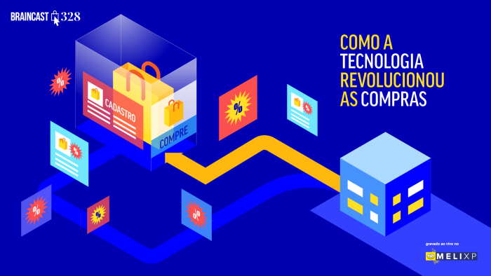 Braincast 328 – Como a tecnologia revolucionou as compras