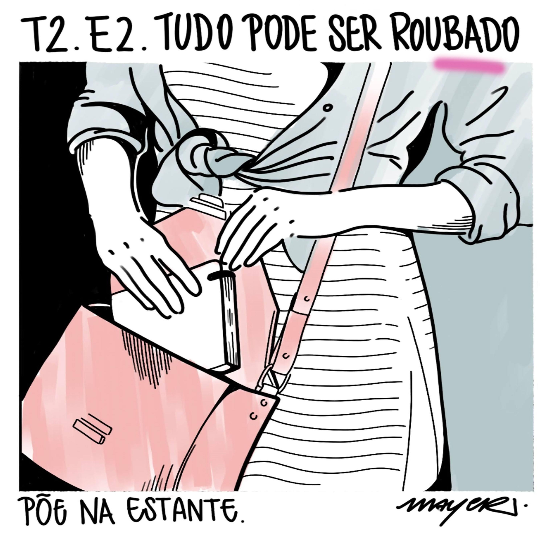 Capa - Tudo Pode Ser Roubado, de Giovana Madalosso