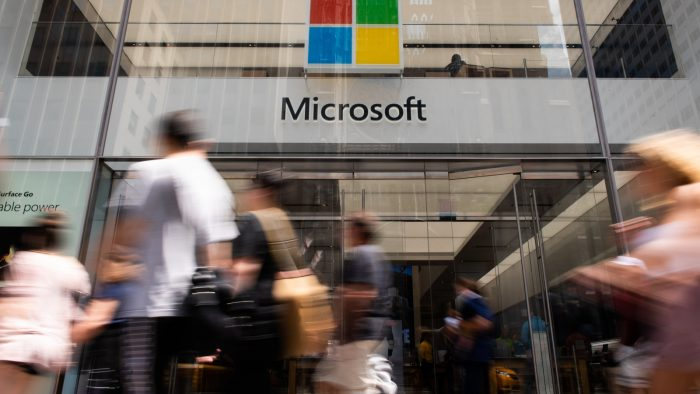 A Microsoft Corp. Store Ahead Of Earnings Figures