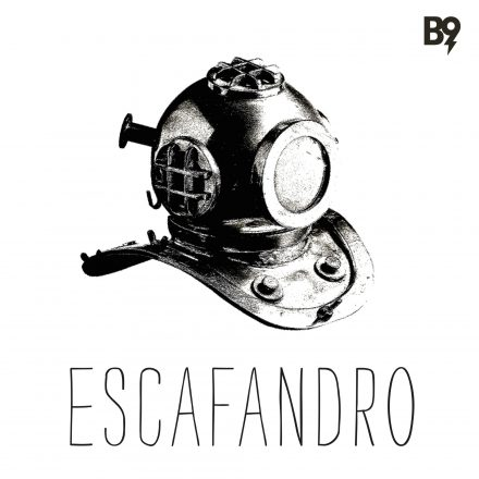 capa do Escafandro