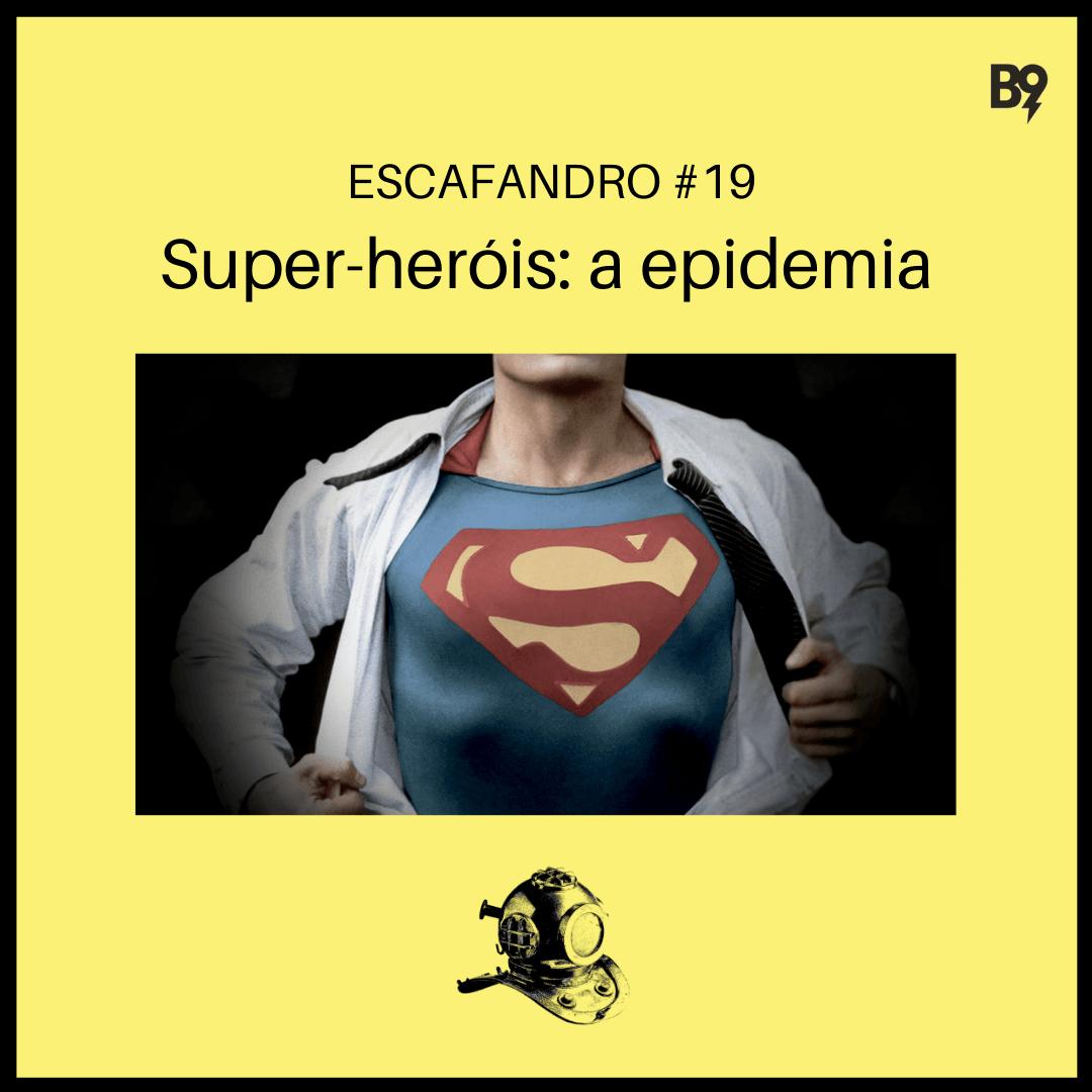 Capa - Super-heróis: a epidemia
