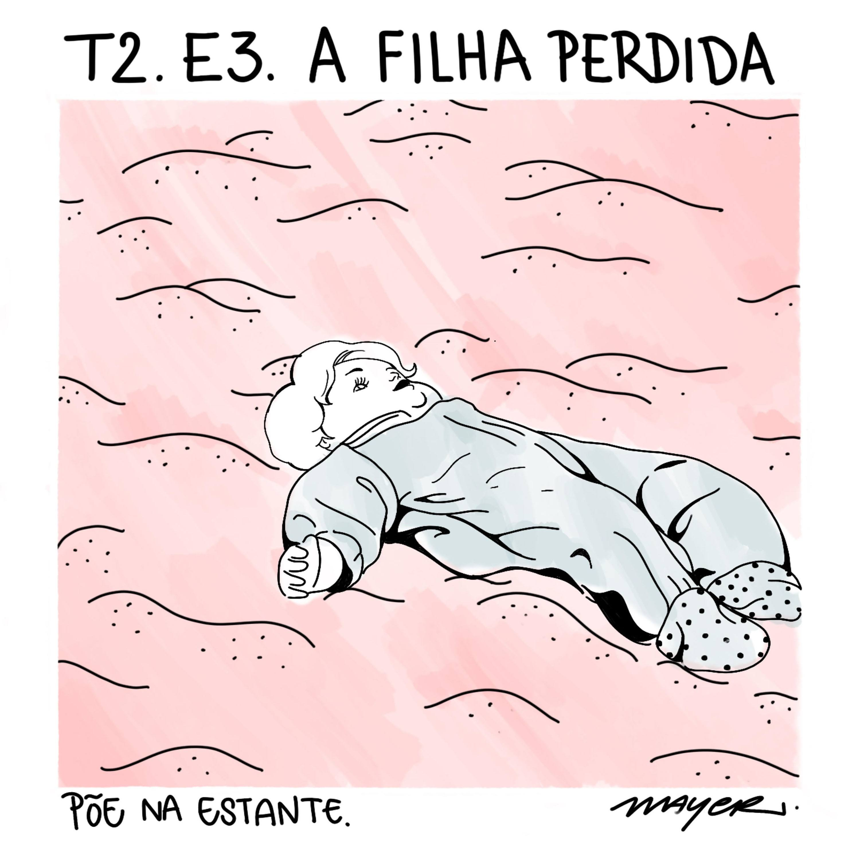 Capa - A Filha Perdida, Elena Ferrante