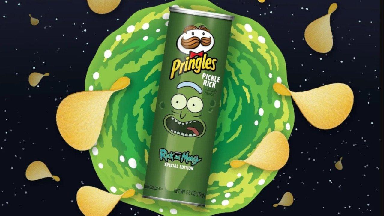 """Pringles volta ao Super Bowl com edição especial """"Rick and Morty"""""""