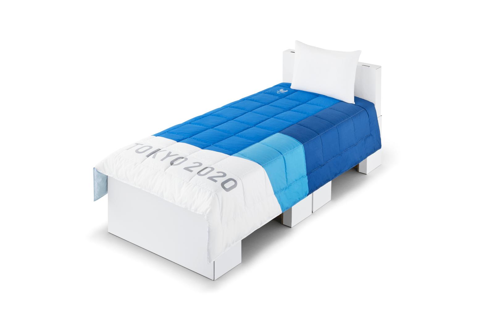 Alojamento dos atletas nas Olimpíadas de Tóquio vai contar com camas feitas de papelão