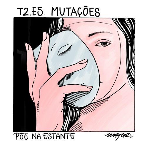 Capa - Mutações, de Liv Ullmann