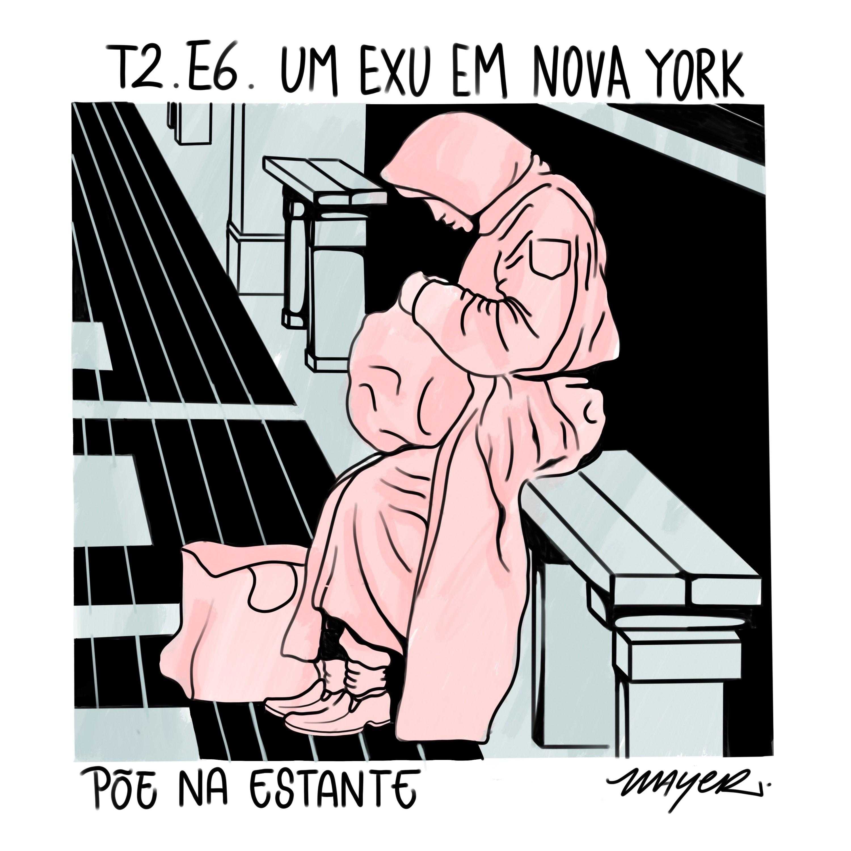 Capa - Um Exu em Nova York, de Cidinha da Silva