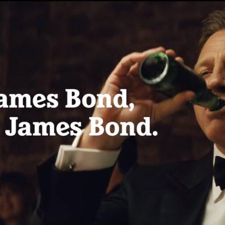 Daniel Craig é perseguido pelo fantasma de James Bond em novo comercial da Heineken
