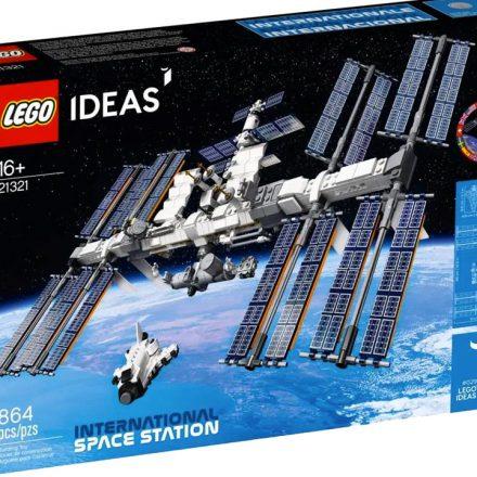 LEGO anuncia conjunto inspirado na Estação Espacial Internacional