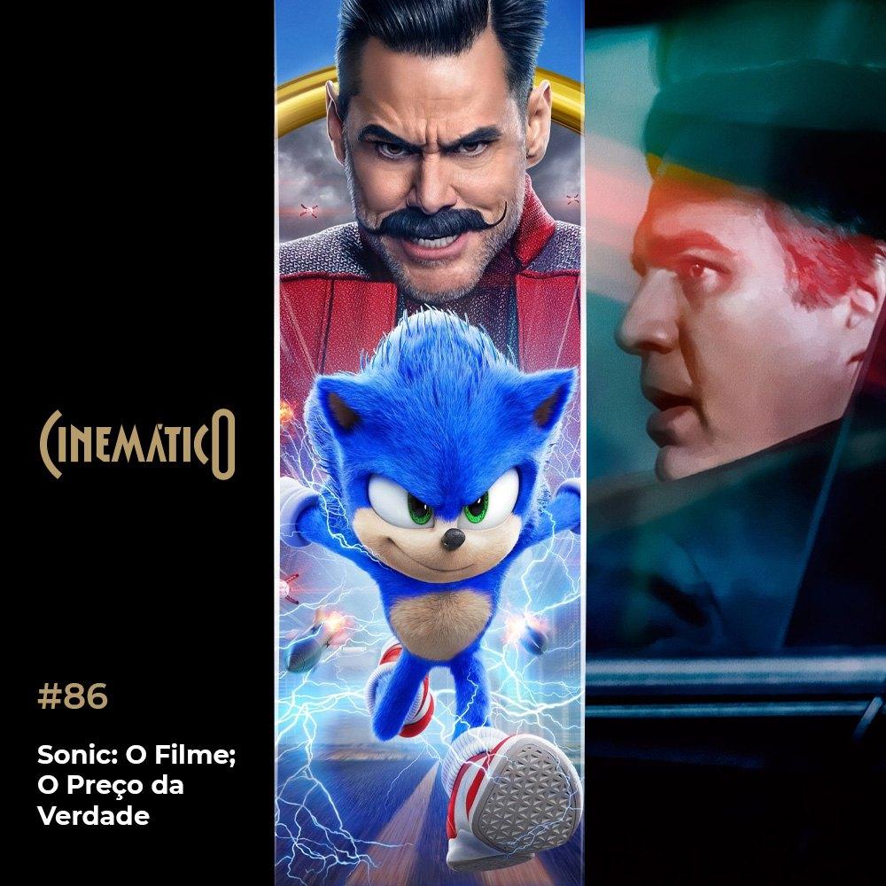 Capa - Sonic: O Filme; O Preço da Verdade