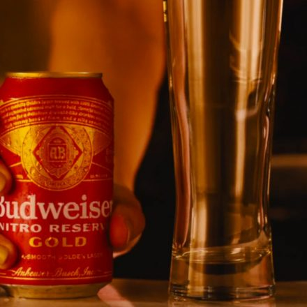 Budweiser-Nitro Reserve Gold