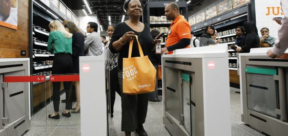 Amazon Go Taking Cash