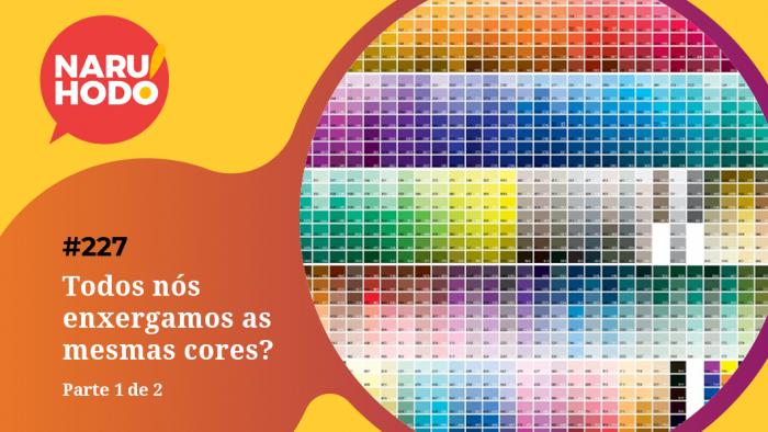 Naruhodo #227 – Todos nós enxergamos as mesmas cores? – Parte 1 de 2