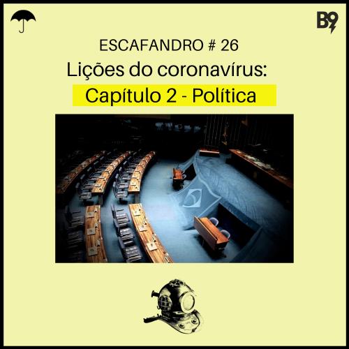 Capa - Lições do coronavírus: Capítulo 2 – Política