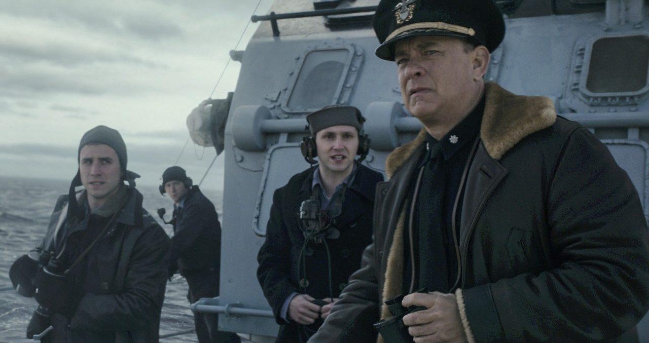 """Drama de guerra estrelado por Tom Hanks, """"Greyhound"""" é comprado pelo Apple  TV+"""