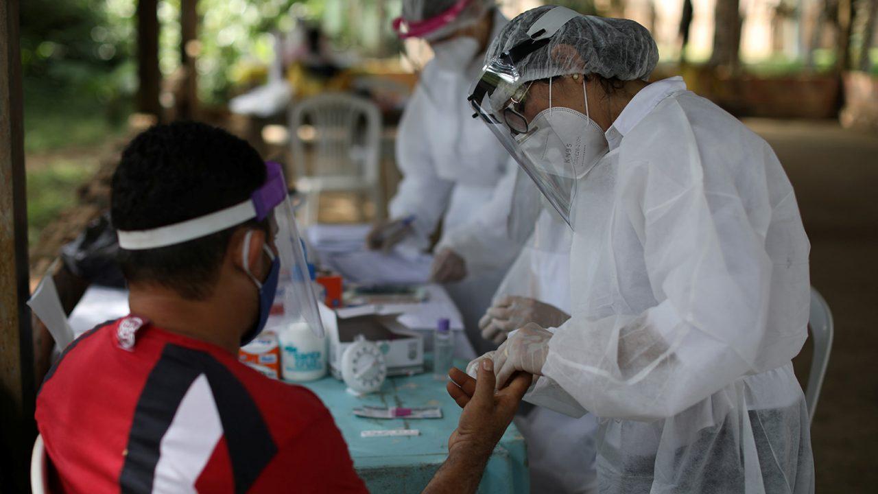 Outbreak of the coronavirus disease (COVID-19), in Manaus