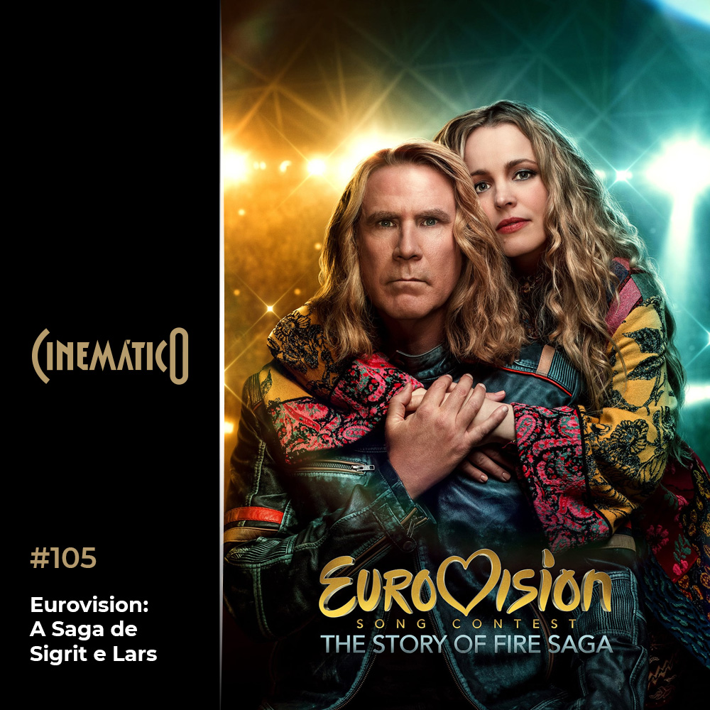 Capa - Eurovision: A Saga de Sigrit e Lars