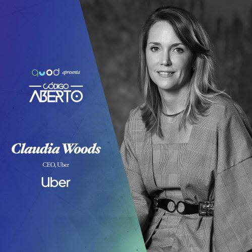Capa - Claudia Woods, CEO, Uber Brasil