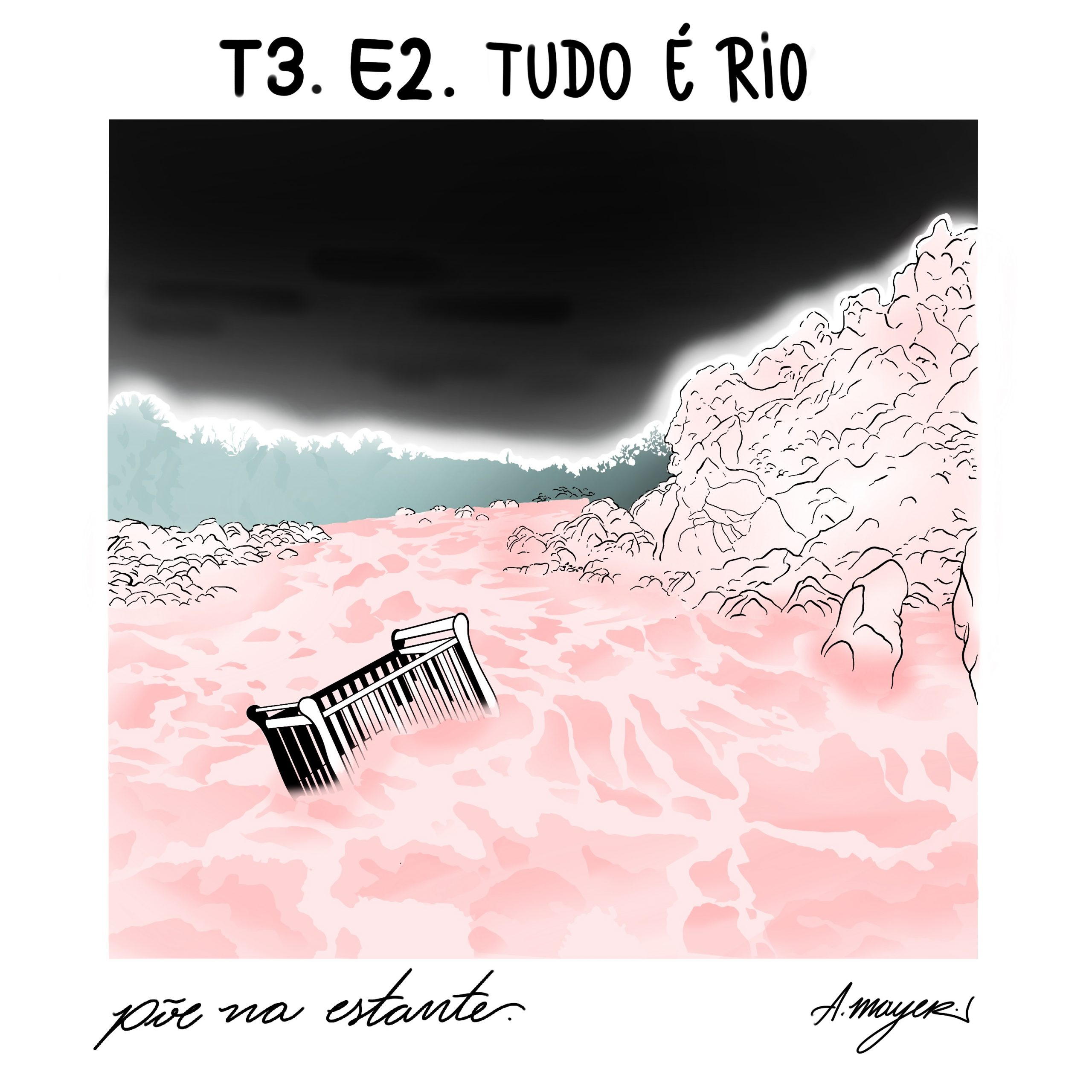 Capa - Tudo é Rio, de Carla Madeira