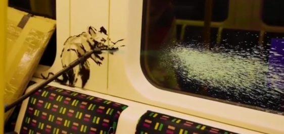 banksy-metro-londres