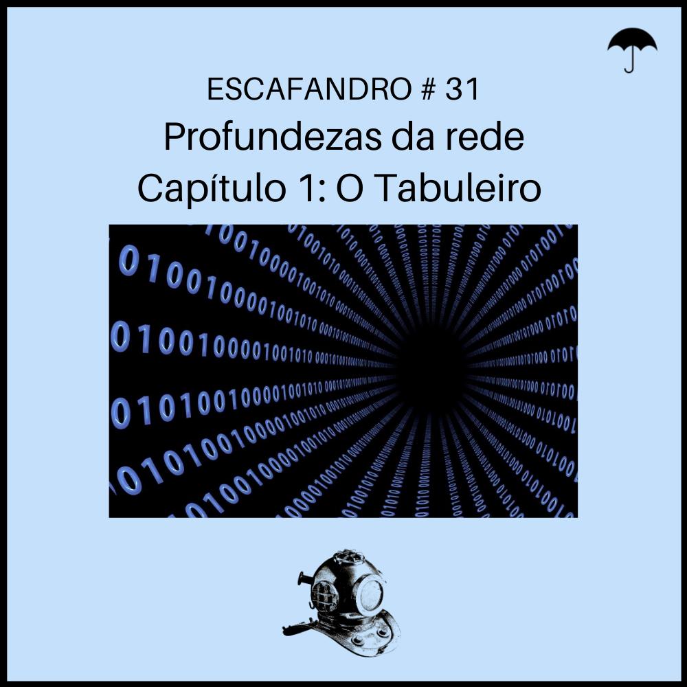 Capa - Profundezas da rede - Capítulo 1: O Tabuleiro