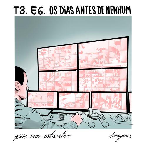 Capa - Os Dias Antes de Nenhum, de Ricardo Terto