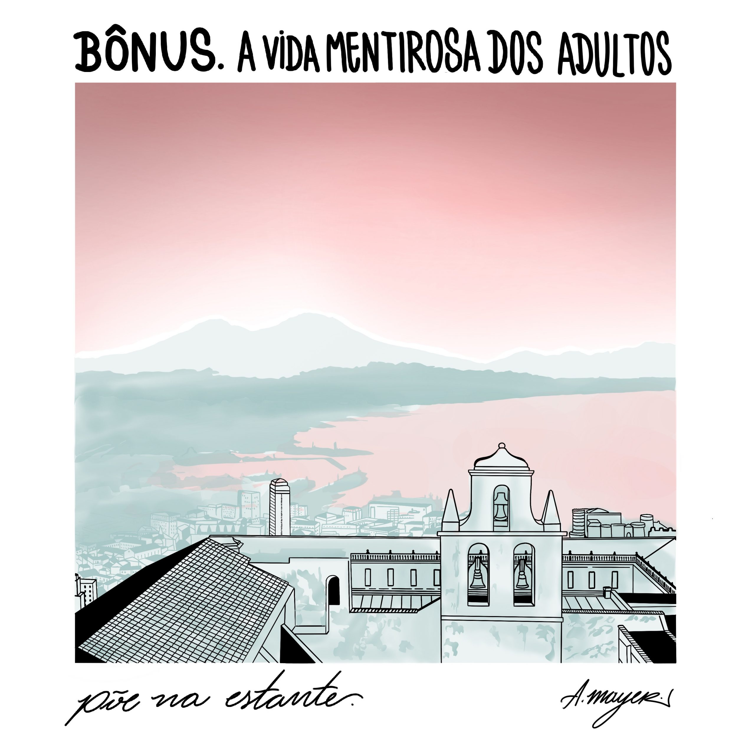 Capa - A Vida Mentirosa dos Adultos, de Elena Ferrante