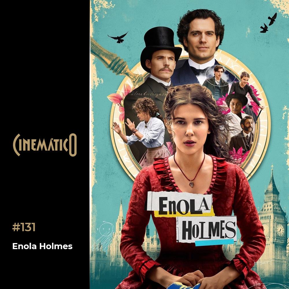 Capa - Enola Holmes