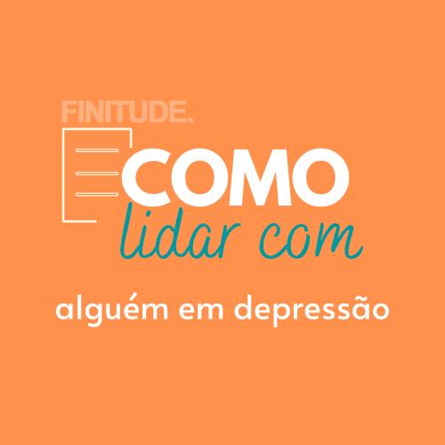 Capa - COMO LIDAR COM ALGUÉM EM DEPRESSÃO