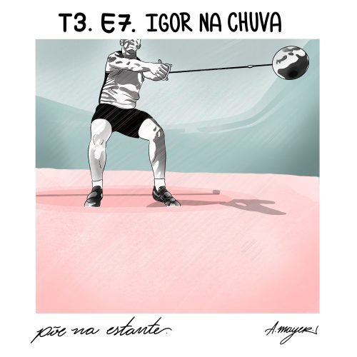 Capa - Igor na Chuva, de Hugo Guimarães