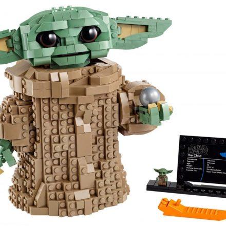 Baby Yoda Lego