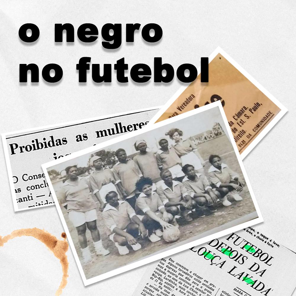 Capa - O Negro no Futebol – Clarice