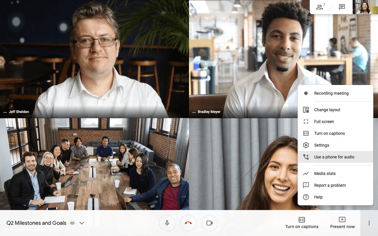 Google volta atrás e continua a oferecer duração ilimitada para chamadas grátis do Meet até março de 2021