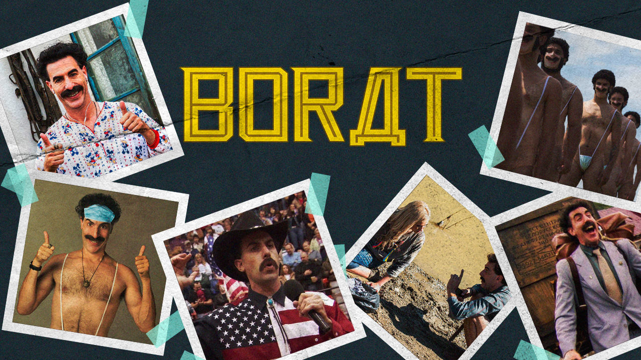 Borat Amazon Prime Video