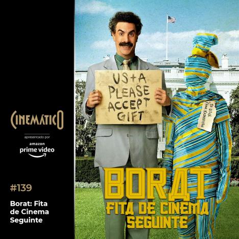 Capa - Borat: Fita de Cinema Seguinte