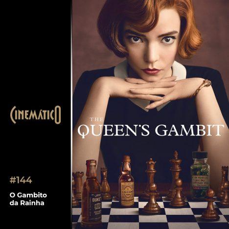 Capa - O Gambito da Rainha