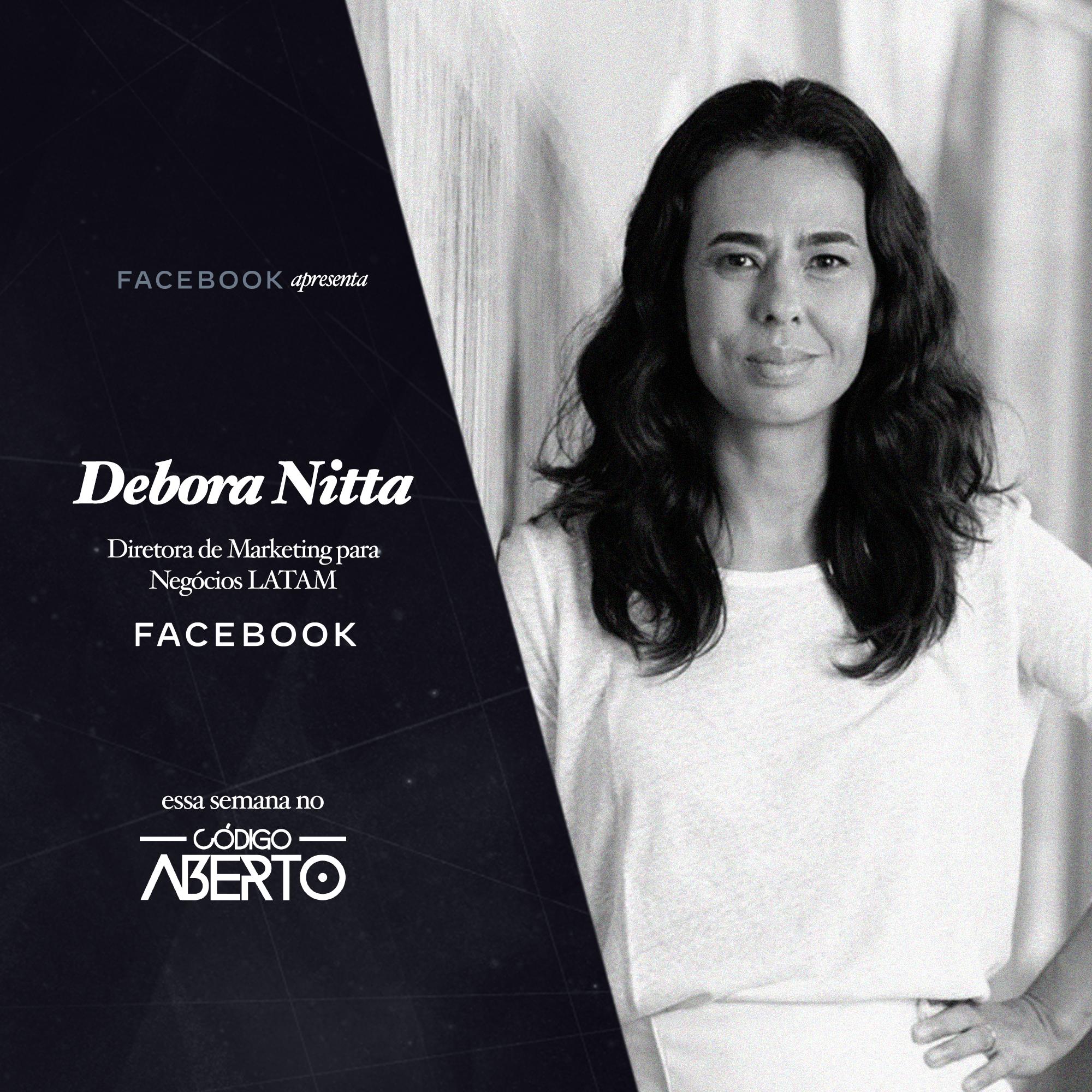 Capa - Débora Nitta, Diretora de Marketing para Negócios LATAM, Facebook Brasil