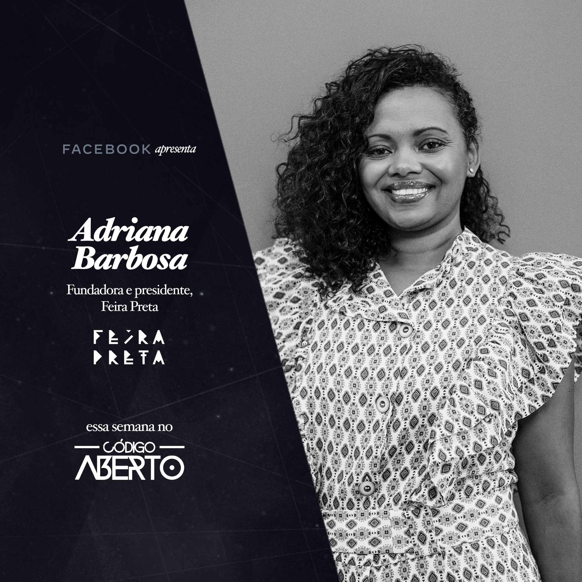 Capa - Adriana Barbosa, Fundadora e Presidente, Feira Preta