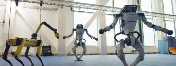 Boston Dynamics-robos-dança