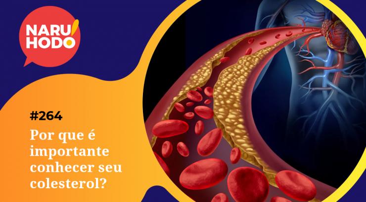Naruhodo #264 – Por que é importante conhecer nosso colesterol?