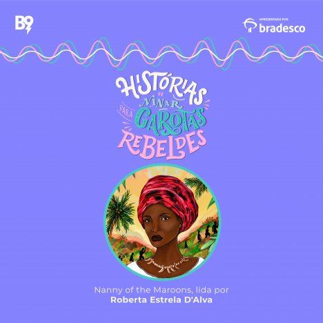 Capa - Nanny of the Maroons, lida por Roberta Estrela D'Alva